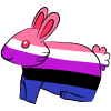 Genderfluid Bunny
