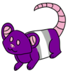 Gray Ace Mouse