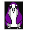 Gray Ace Penguin