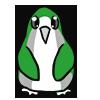 Gray Romantic Penguin