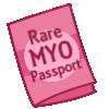 Rare MYO Passport