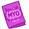 Special MYO Passport